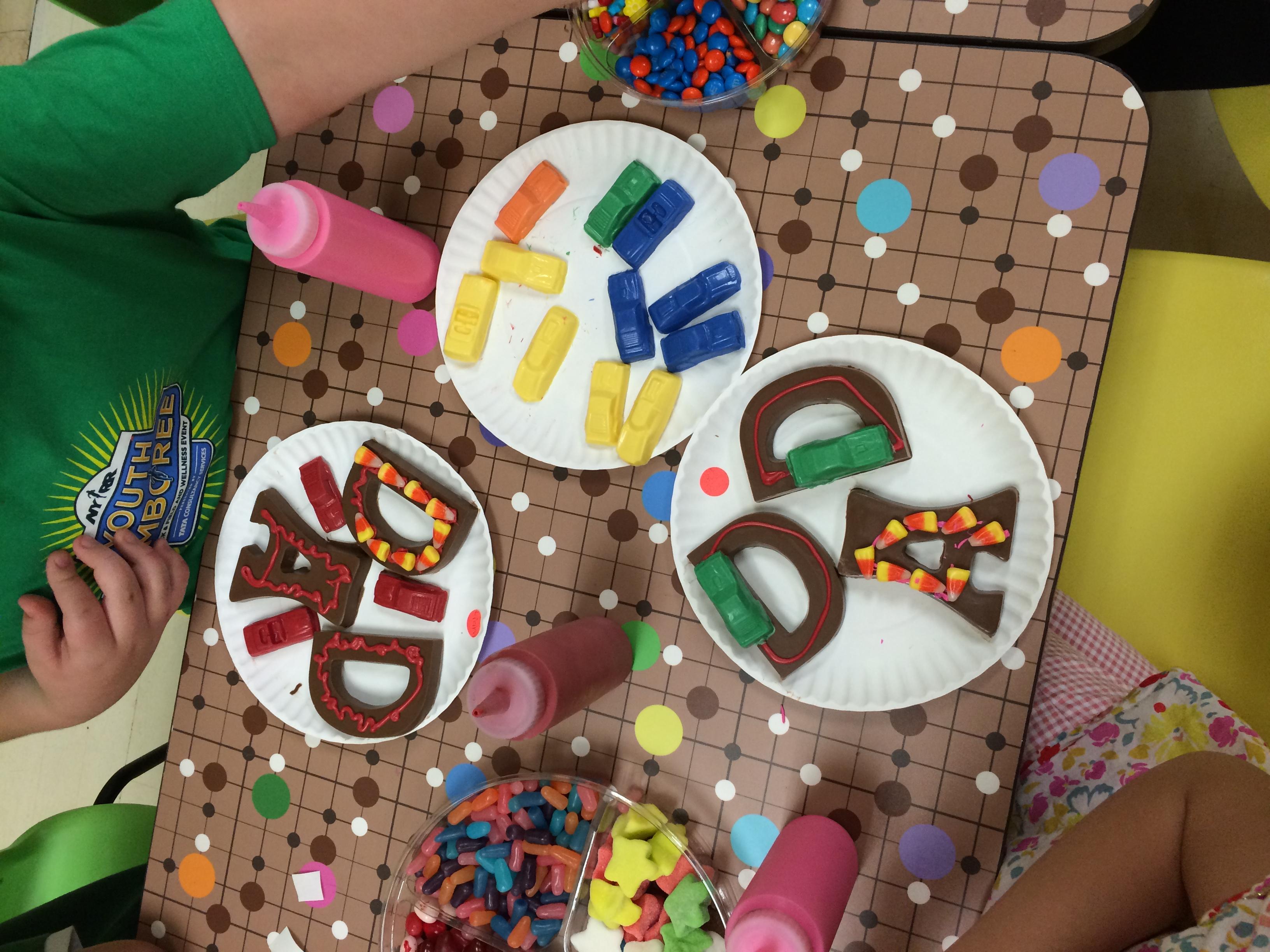 Chocolate Dad Art Workshop