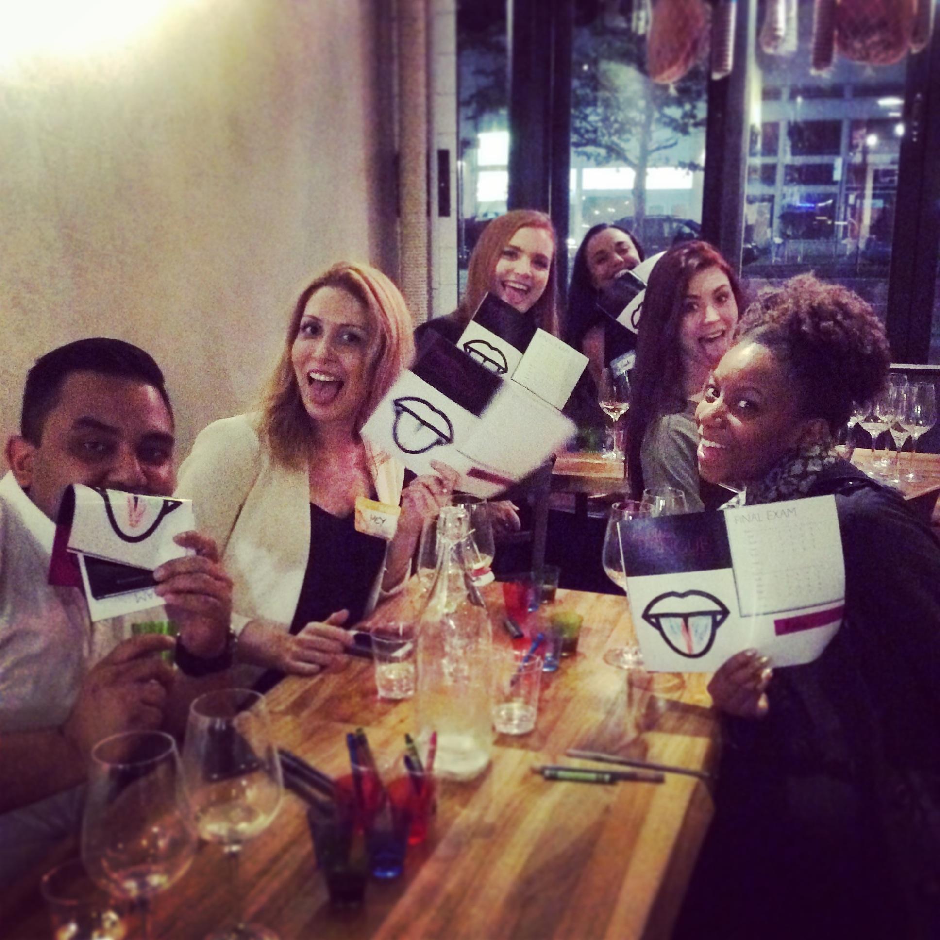 CLINQ Wine Tasting Event