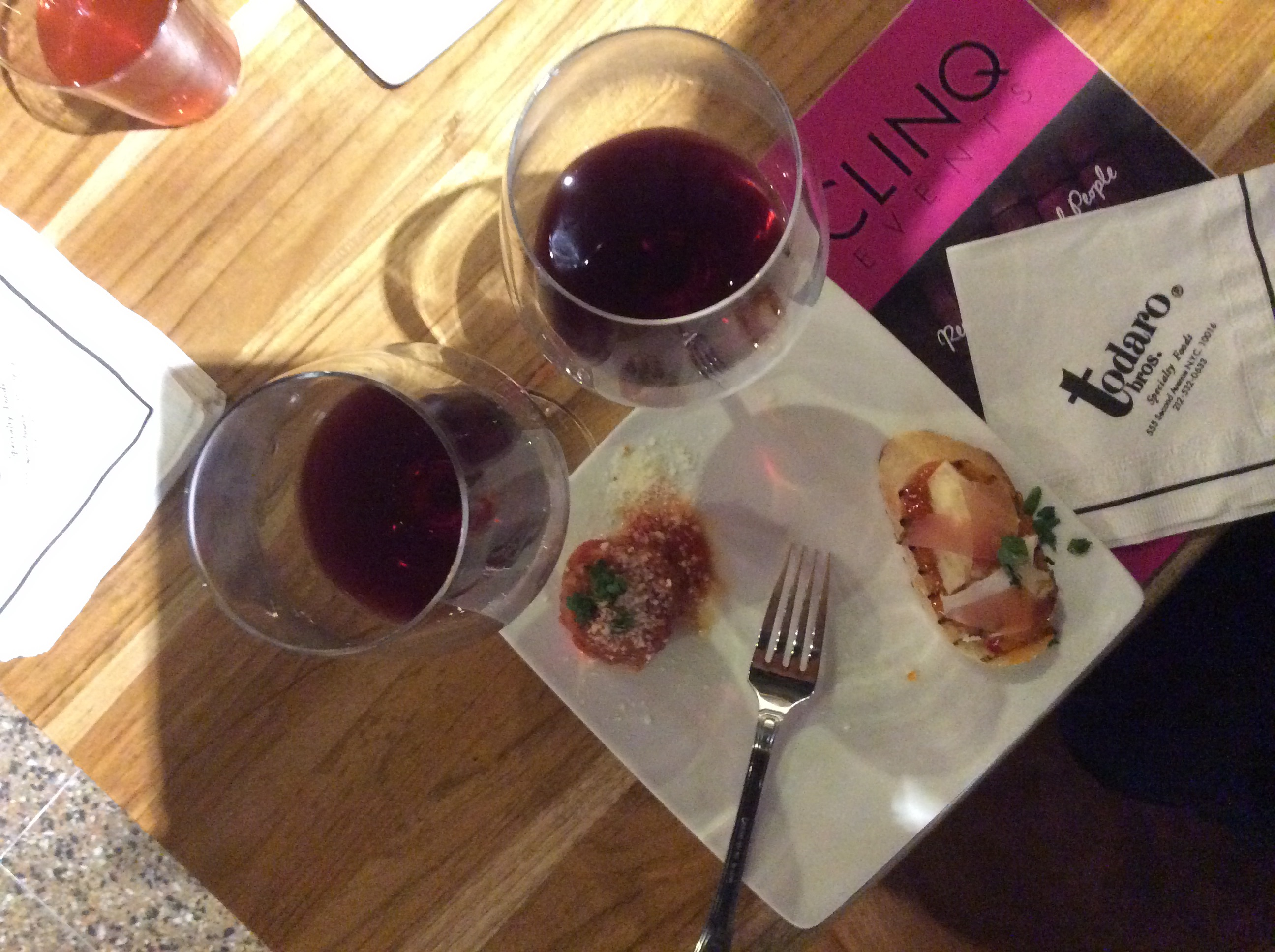 CLINQ Wine and Food Pairing