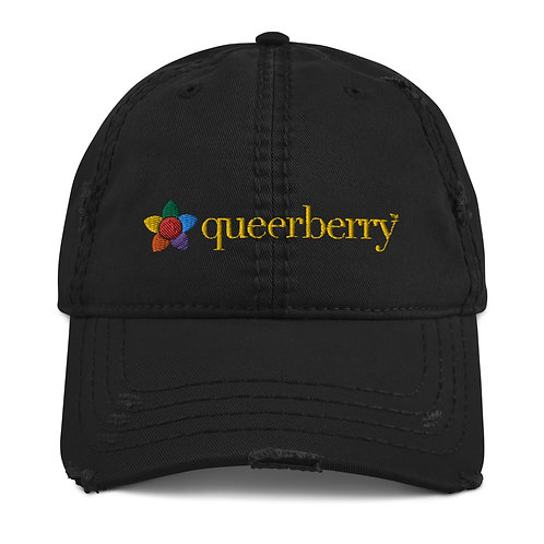 Queerberry™ Distressed Hat
