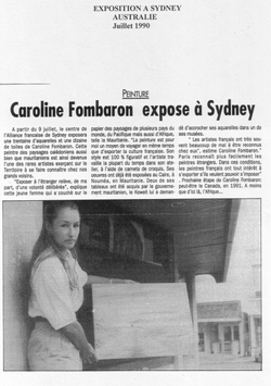 Juillet 1990 - Australie Sydney