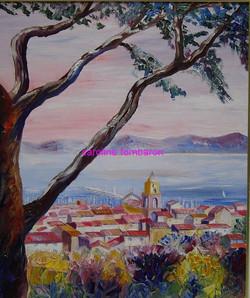 Le clocher de St Tropez