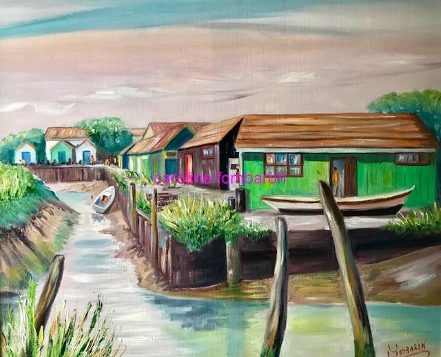 Cabanes à Oléron