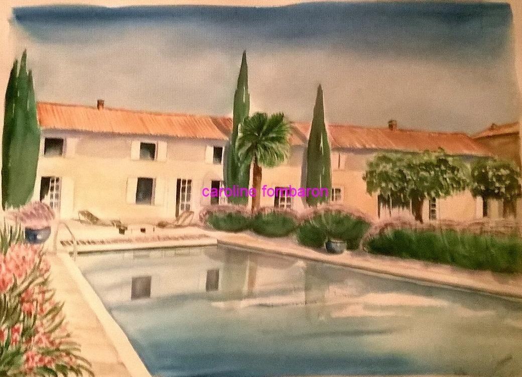 maison Lahache (aquarelle)
