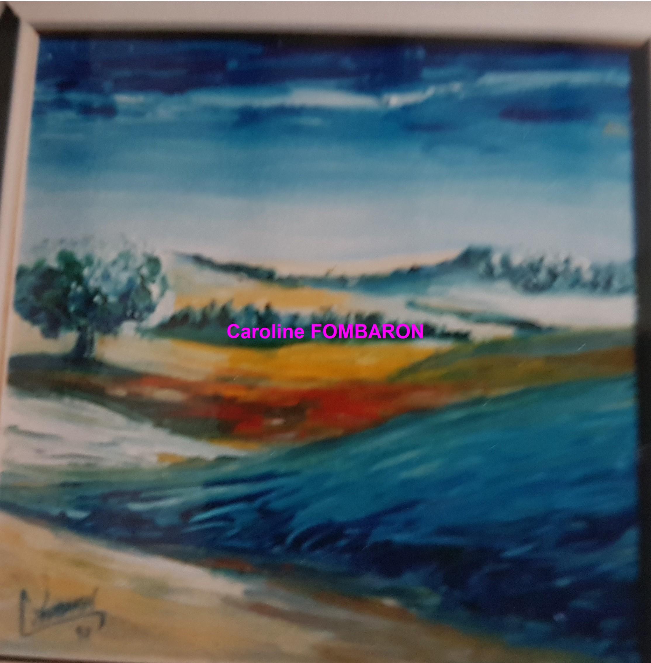 Paysage provençal 40x40