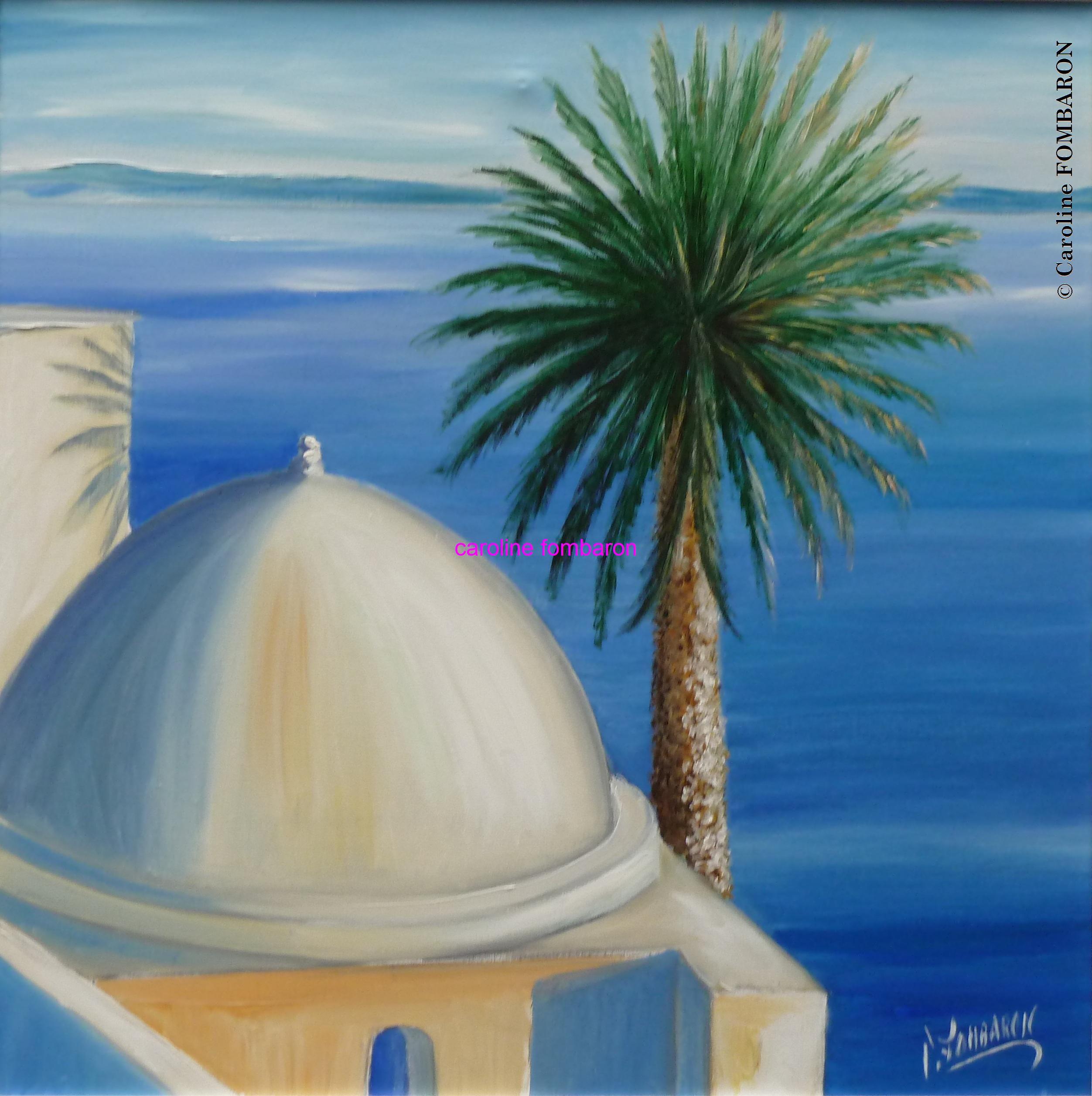 Le palmier bord de mer tunisie