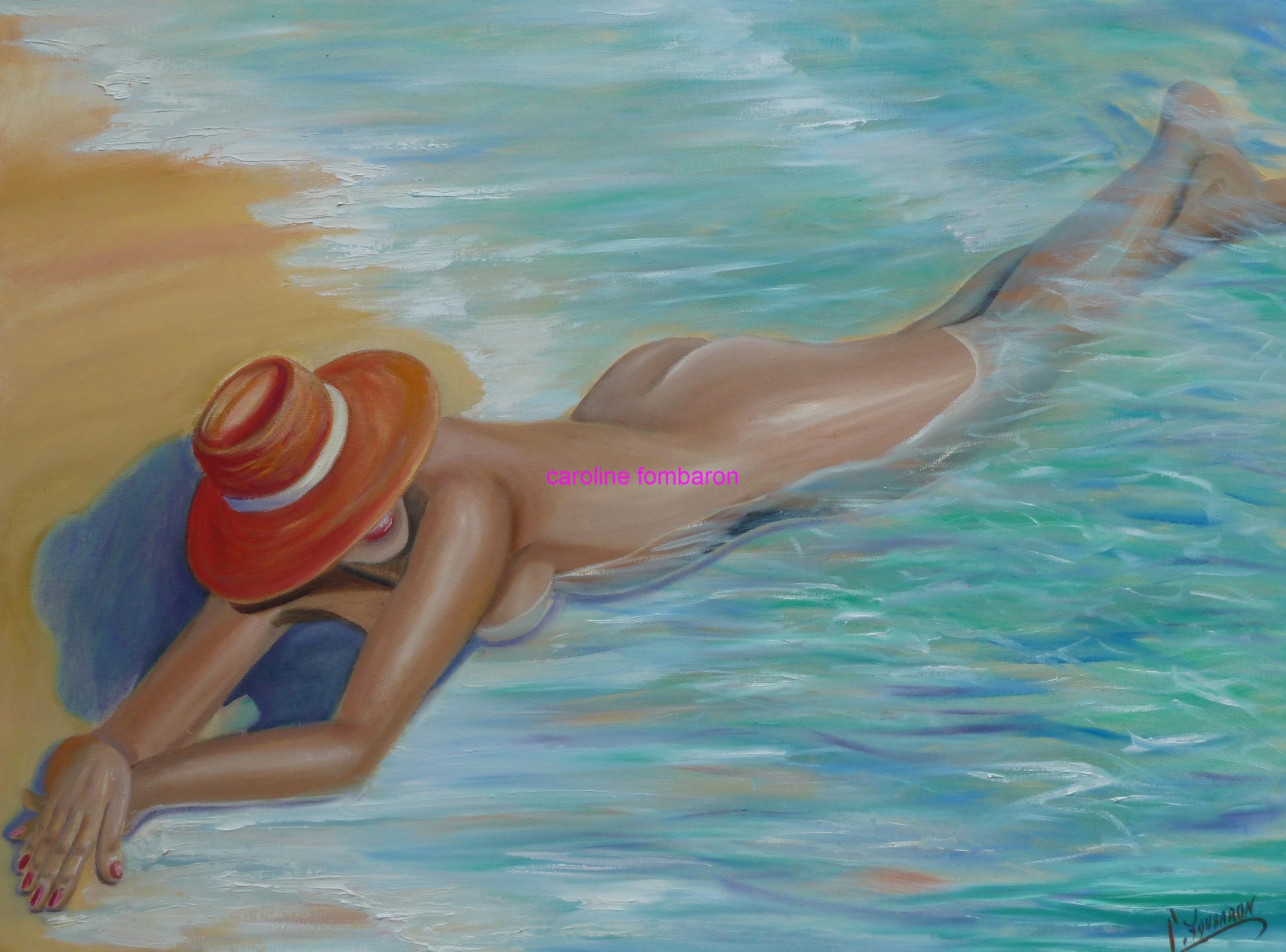 La femme au chapeau rouge