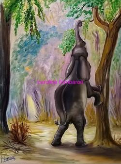 La cueillette de l'éléphant