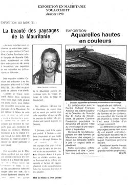 1990 - Mauritanie