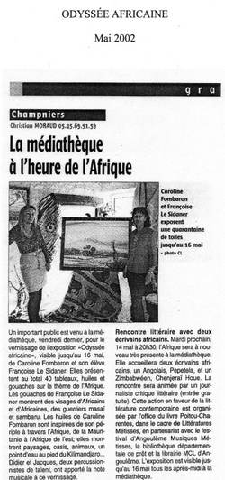 mai 2002 - Champniers