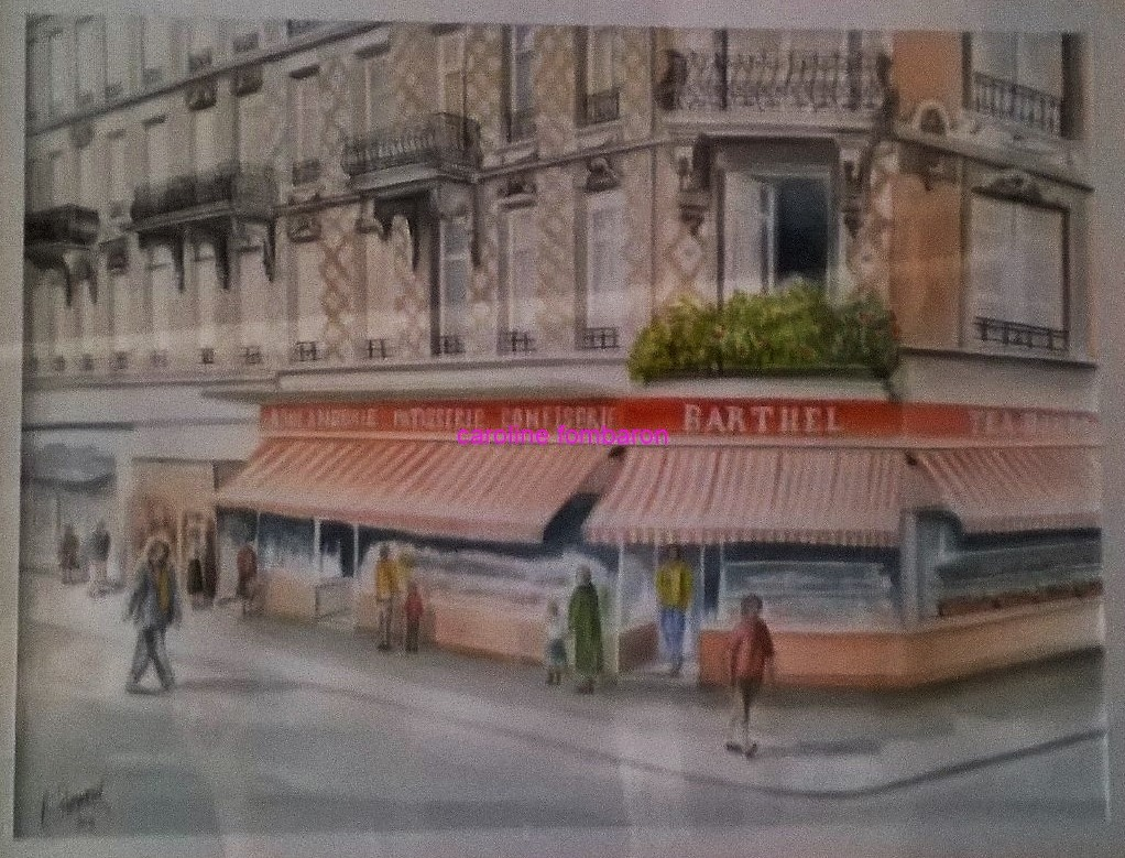 Patisserie Barthel  (aquarelle)