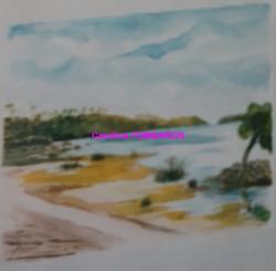 Martinique aquarelle