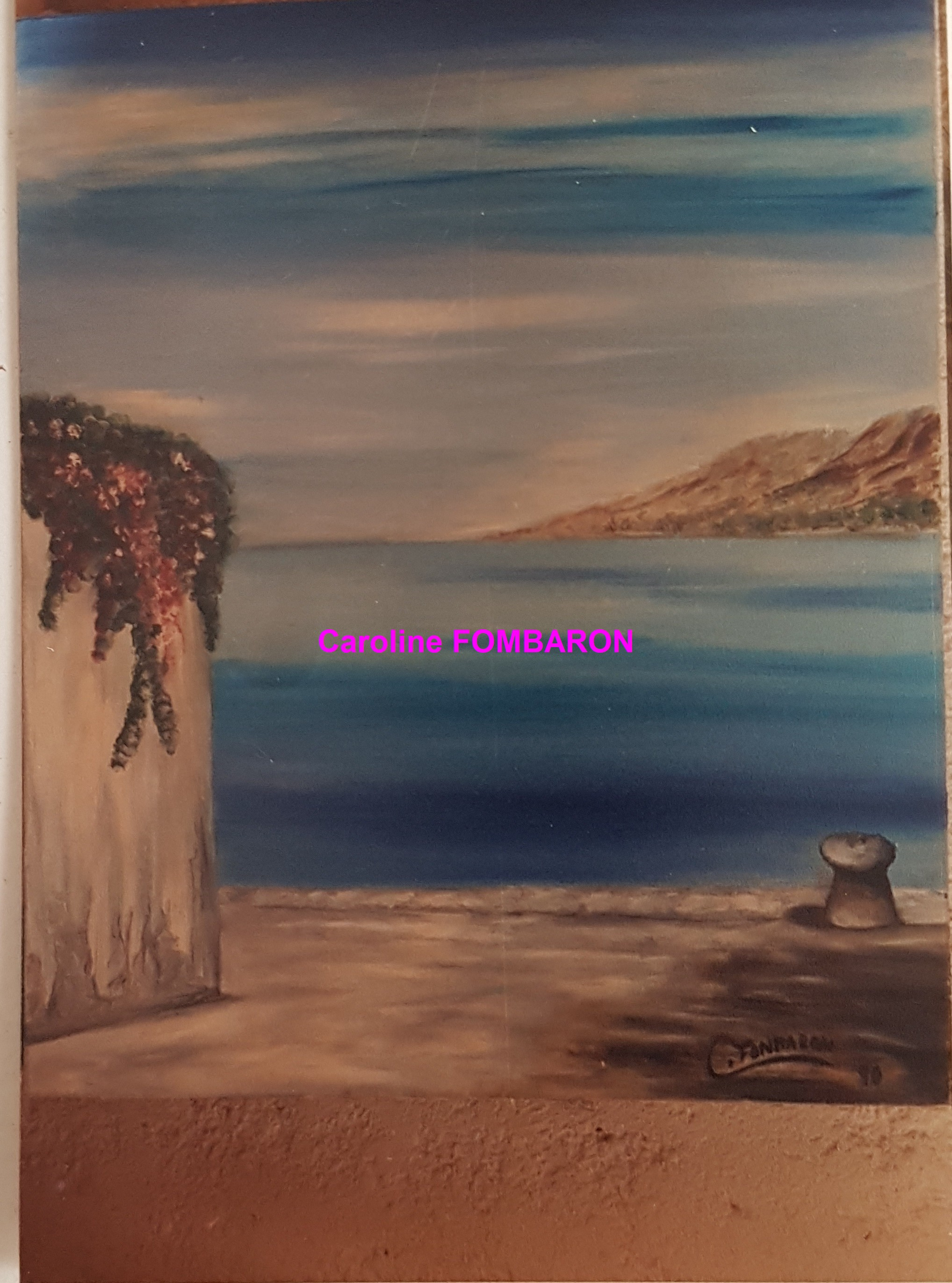 Paysage de Gréce 15F