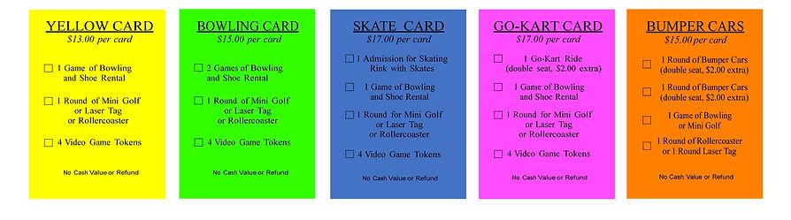 Jackson Bowling FUN CARD