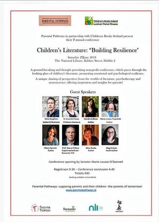 Children's Literature: Building Resilience, Saturday 23rd June 2018, Dublin