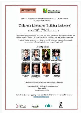 Children's Literature: Building Resilience, Saturday 23rd June 2018, Dublin