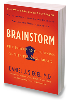 Brainstorm: The Power and Purpose of the Teenage Brain by Neuropsychiatrist Daniel Siegel