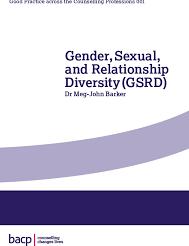 Gender, Sexual and Relationship Diversity by Dr Meg-John Barker