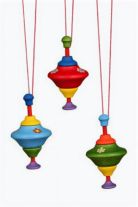 Spinning Tops Ornament
