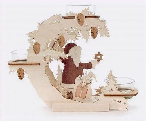 Santa Tealight Candleholder