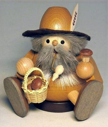 Sitting Forest Gnome Smoker