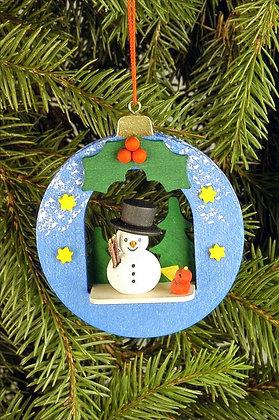 Snowman Christmas Ball