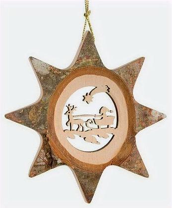 Star Sleigh Ornament