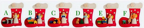 Stocking Angel Ornament