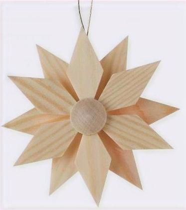 Natural Star Ornament