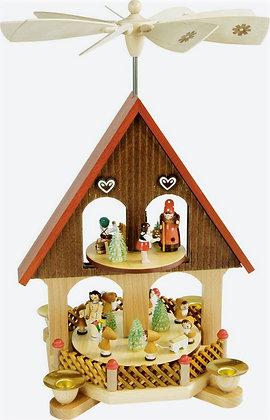 Fairy Tale House Pyramid (3-tier)