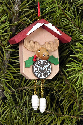 Moose Cuckoo Clock Ornament