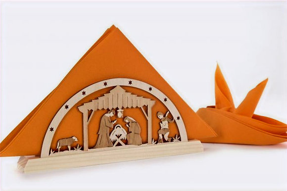 Nativity Napkin Holder