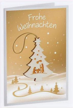 Christmas Cards w/ Ornament