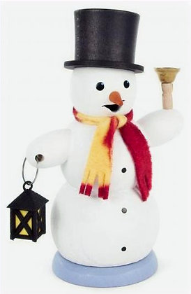Lantern Snowman Smoker