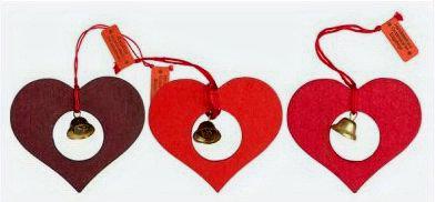 Heart & Bell Ornament