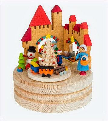 Christmas Market Music Box