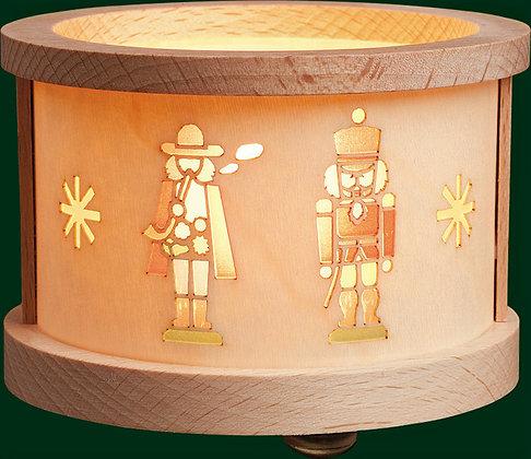Nutcracker and Smoker Tealight Lantern