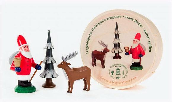 Santa and Reindeer Set