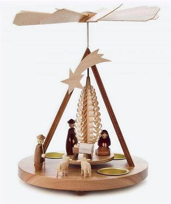 Nativity Tealight Pyramid