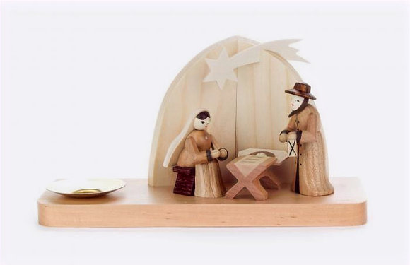 Nativity Tealight Holder
