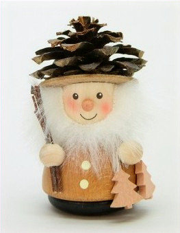 Pine Cone Man Ornament