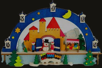 Snowman Arch (Lighted)