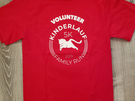 If you have questions on race day, look for a red shirt!