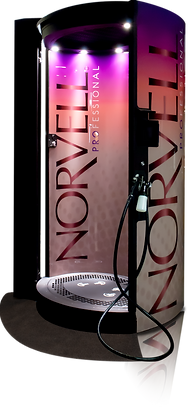 norvell auto revolution spray tan booth