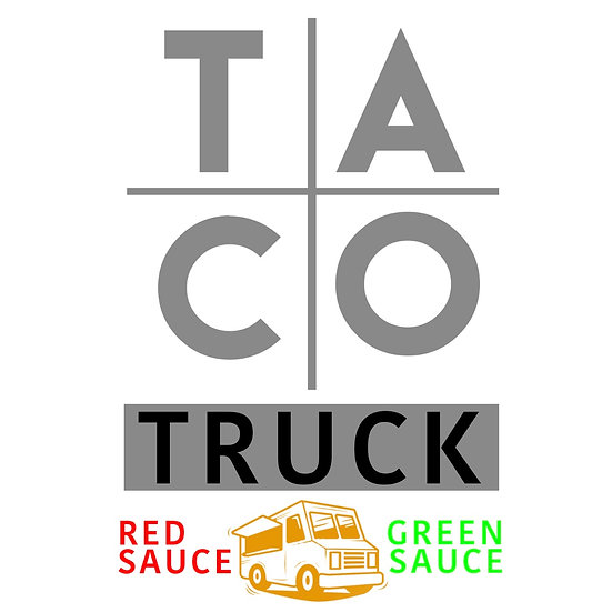 Taco Truck Shirt ( White)
