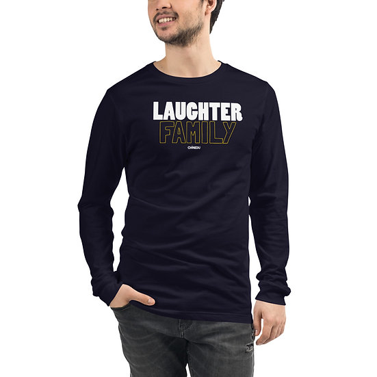Laughter Family  Long Sleeve Tee
