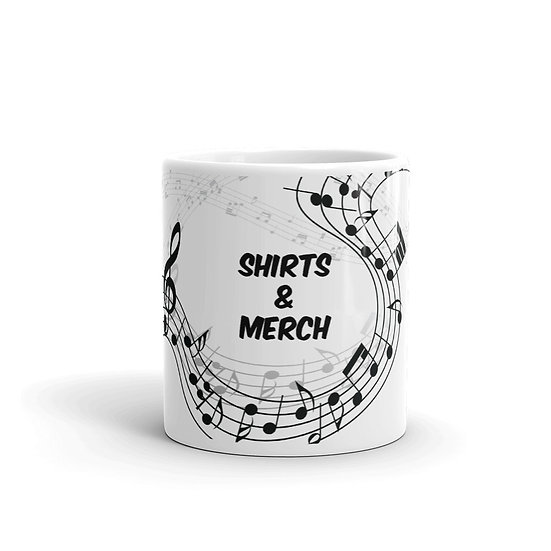 """Shirts & Merch"" Mug"