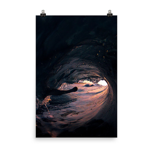 Water Eclipse - Photo paper poster