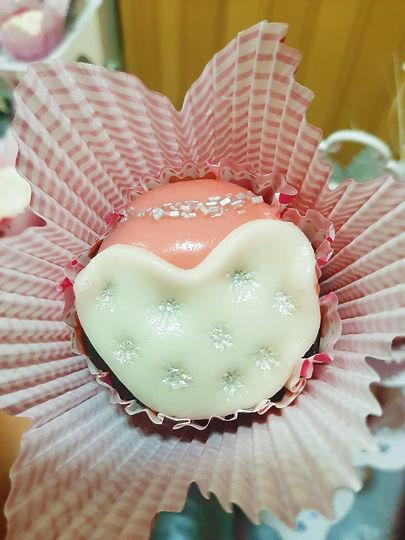 cupcake decorado fondant personalizado.j