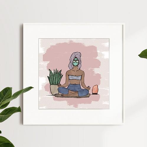 Masks + Meditation